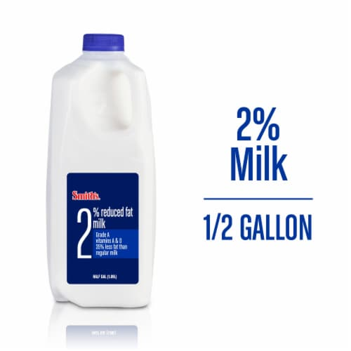 Smith's 2% Reduced Fat Milk Perspective: front