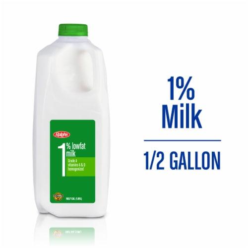 Ralphs 1% Lowfat Milk Perspective: front