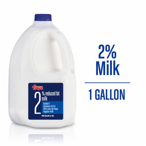 Fry's 2% Reduced Fat Milk Perspective: front