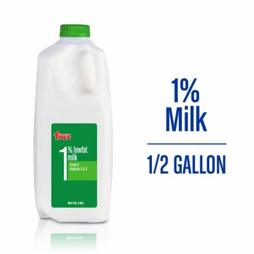 Fry's 1% Lowfat Milk Perspective: front