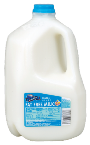 Mountain Dairy™ Fat Free Skim Milk Perspective: front