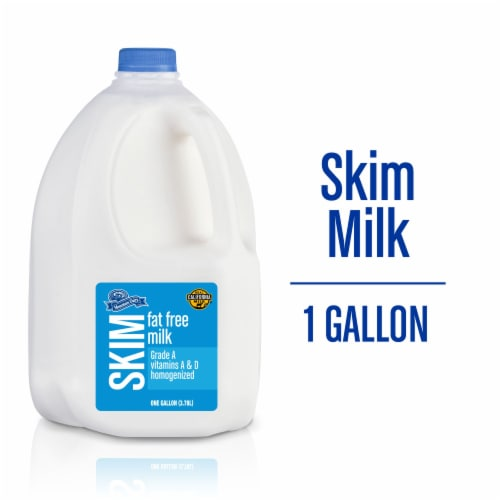 Mountain Dairy® Fat Free Skim Milk Perspective: front