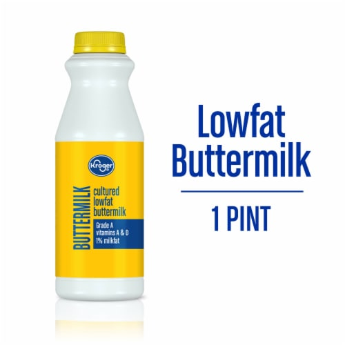 Kroger® Cultured Low Fat Buttermilk Perspective: front