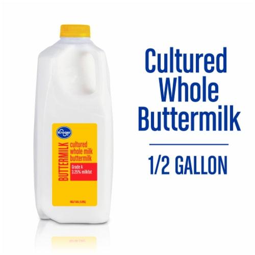Kroger® Cultured Whole Buttermilk Perspective: front