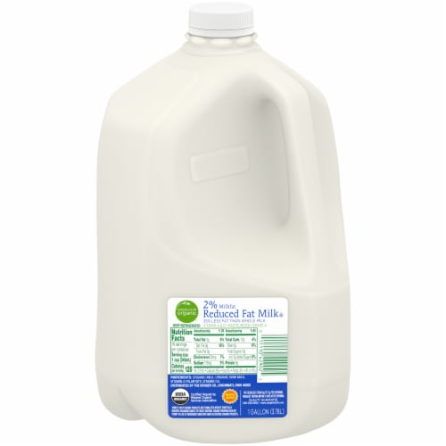 Simple Truth Organic® 2% Reduced Fat Milk Perspective: front
