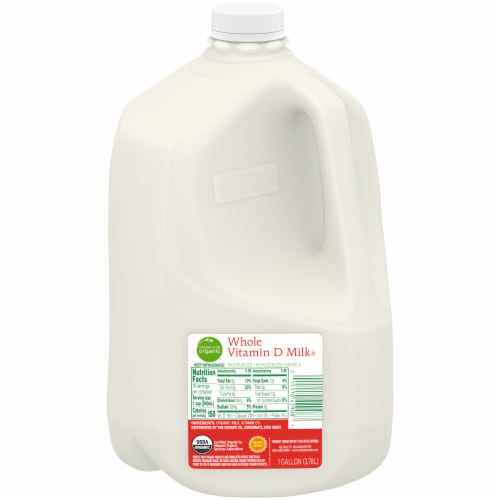 Simple Truth Organic® Whole Milk Perspective: front