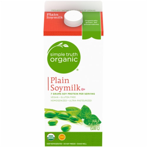 Simple Truth Organic® Plain Soymilk Perspective: front