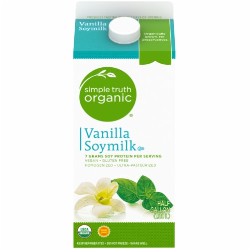 Simple Truth Organic® Vanilla Soymilk Perspective: front