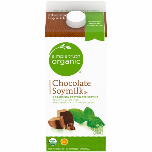 Simple Truth Organic® Chocolate Soymilk Perspective: front
