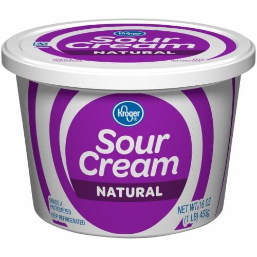 Kroger® Natural Sour Cream Perspective: front