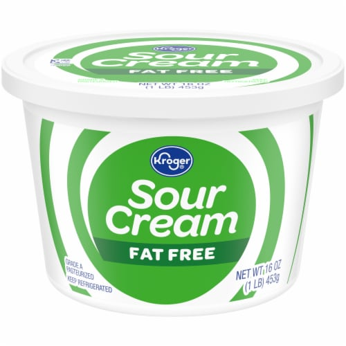 Kroger® Fat Free Sour Cream Perspective: front