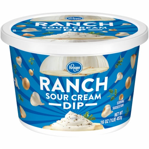 Kroger® Ranch Sour Cream Dip Perspective: front
