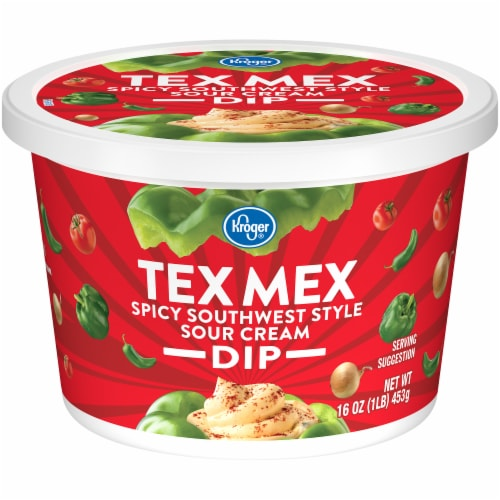 Kroger® Tex Mex Spicy Southwest Dip Tub Perspective: front
