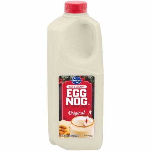 Kroger® Egg Nog Perspective: front