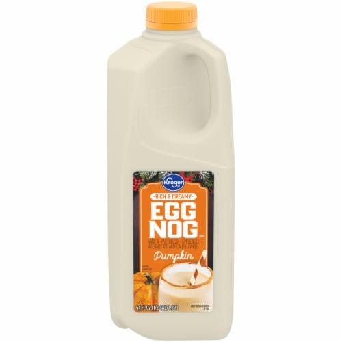 Kroger®  Pumpkin Egg Nog Perspective: front