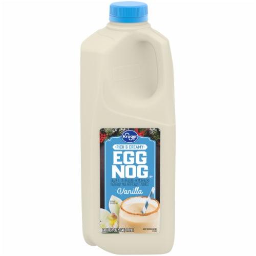 Kroger® Vanilla Eggnog Perspective: front