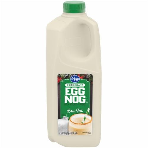 Kroger® Rich & Creamy Low Fat Eggnog Perspective: front