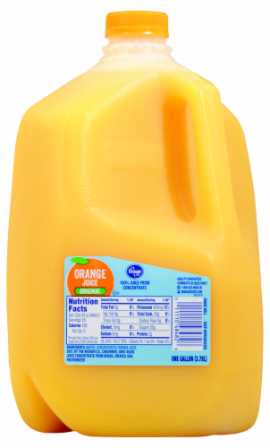 Kroger® Original 100% Orange Juice from Concentrate Perspective: front