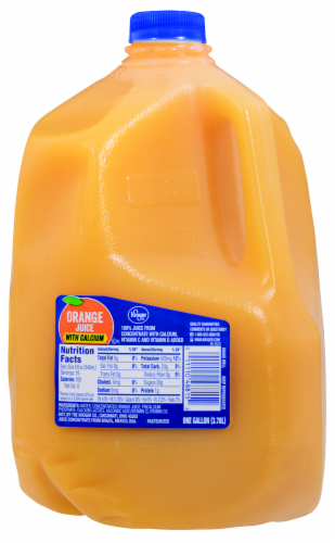 Kroger® Orange Juice with Calcium Perspective: front