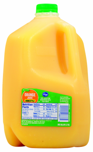 Kroger® Homestyle Orange Juice Perspective: front