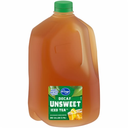 Kroger® Decaf Unsweet Iced Tea Perspective: front