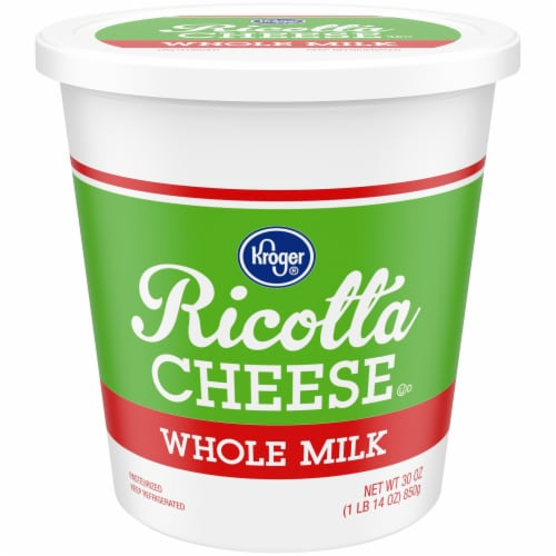 Kroger® Whole Milk Ricotta Cheese Perspective: front