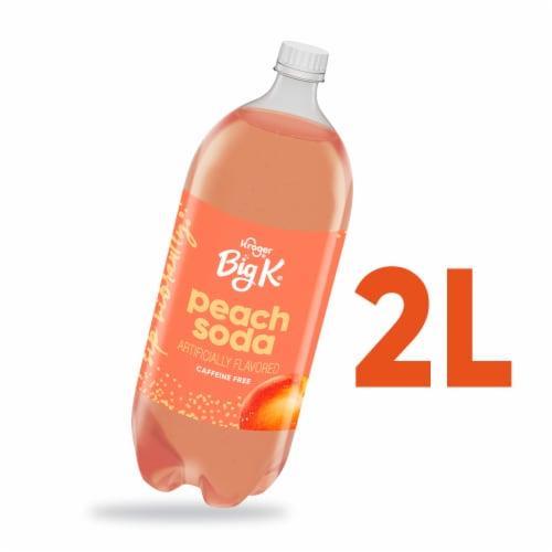 Big K® Peach Soda Perspective: front