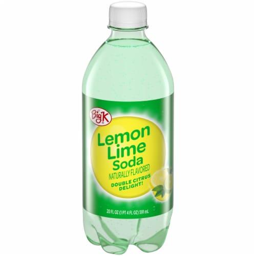Big K® Lemon Lime Soda Perspective: front