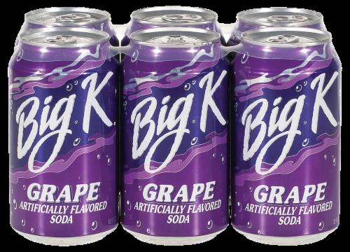 Big K® Grape Soda Perspective: front