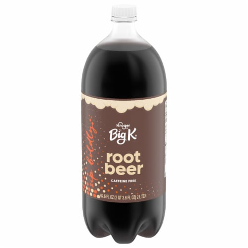 Big K® Root Beer Soda Perspective: front