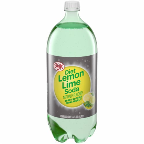 Big K® Diet Lemon Lime Soda Perspective: front