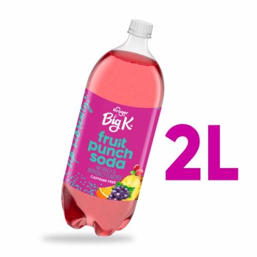 Big K® Fruit Punch Soda Perspective: front