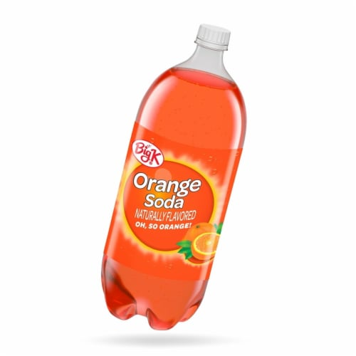 Big K® Orange Soda Perspective: front