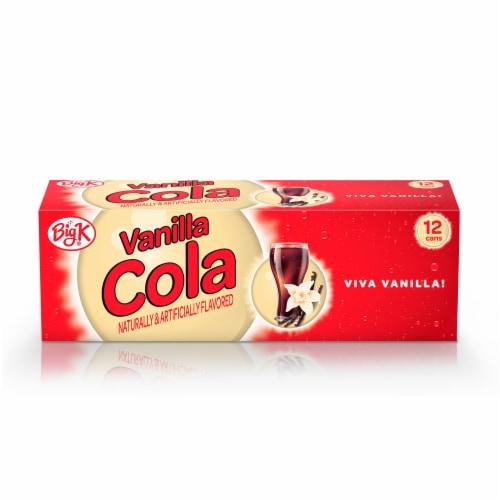 Big K® Vanilla Cola Soda Perspective: front