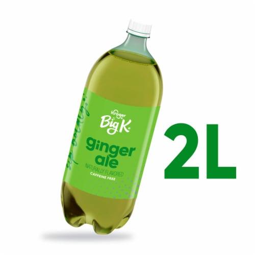 Big K® Ginger Ale Soda Perspective: front