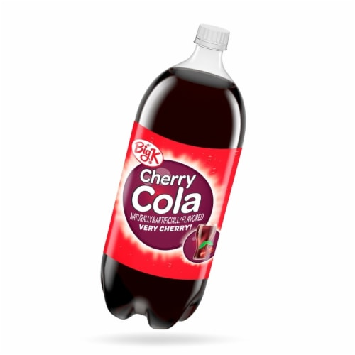 Big K® Cherry Cola Perspective: front
