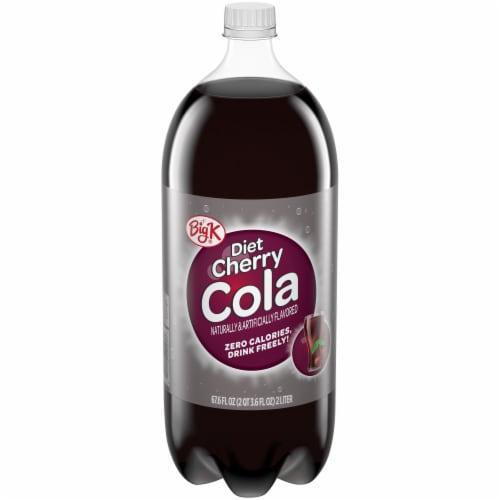 Big K® Diet Cherry Cola Perspective: front