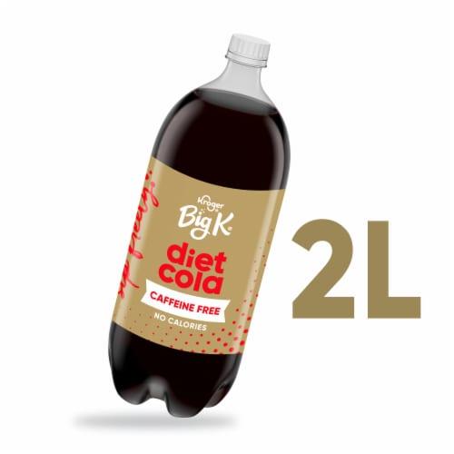 Big K® Caffeine Free Diet Cola Soda Perspective: front