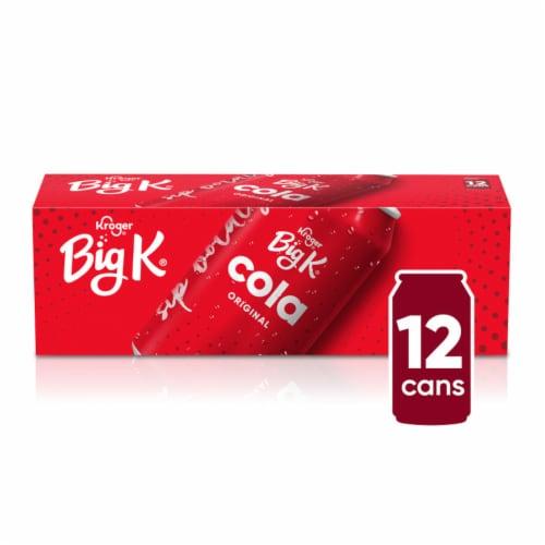 Big K® Cola Soda Perspective: front