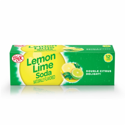 Big K® Lemon Lime Soda Perspective: front
