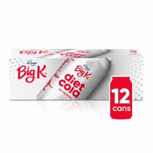 Big K® Diet Cola Perspective: front