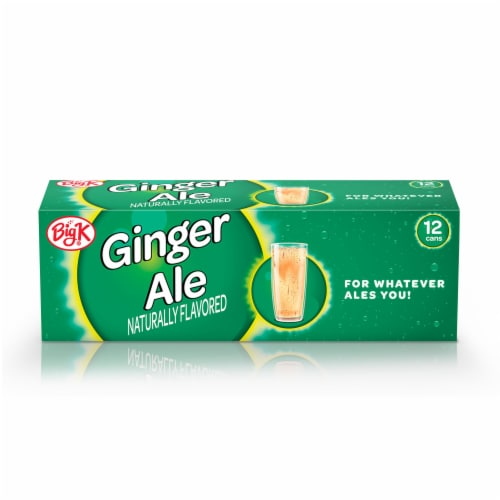 Big K® Ginger Ale Soda Perspective: front