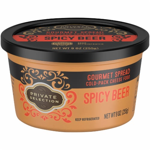 Private Selection™ Spicy Beer Gourmet Cheese Spread Perspective: front