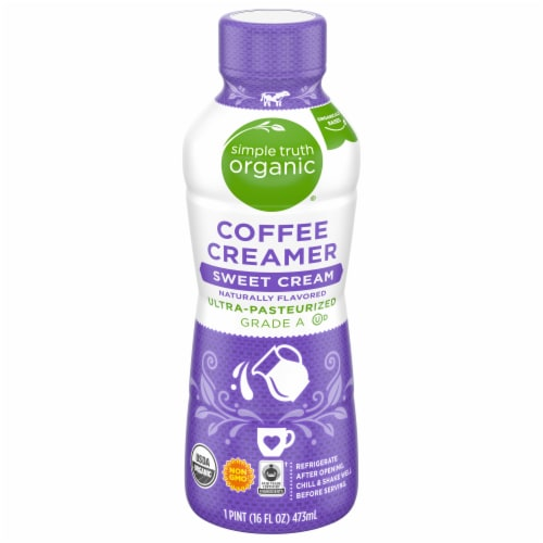 Simple Truth Organic™ Sweet Cream Coffee Creamer Perspective: front