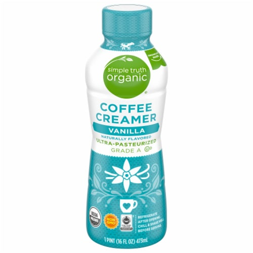 Simple Truth Organic® Vanilla Coffee Creamer Perspective: front