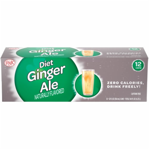 Big K® Diet Ginger Ale Perspective: front