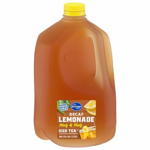 Kroger® Decaffeinated Half & Half Lemonade & Tea Perspective: front