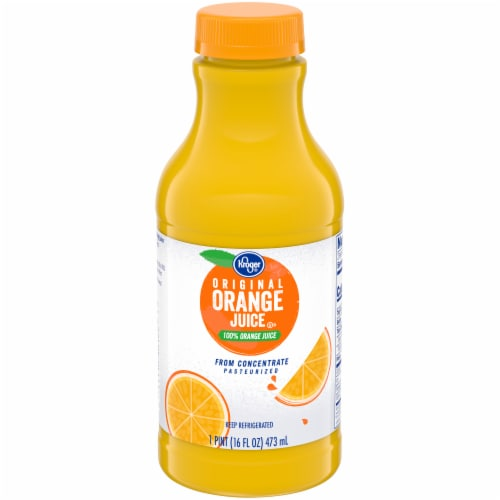 Kroger® 100% Orange Juice Perspective: front