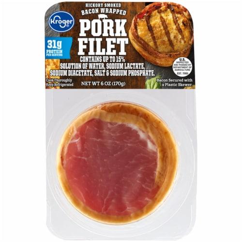 Kroger® Bacon Wrapped Pork Filet Perspective: front