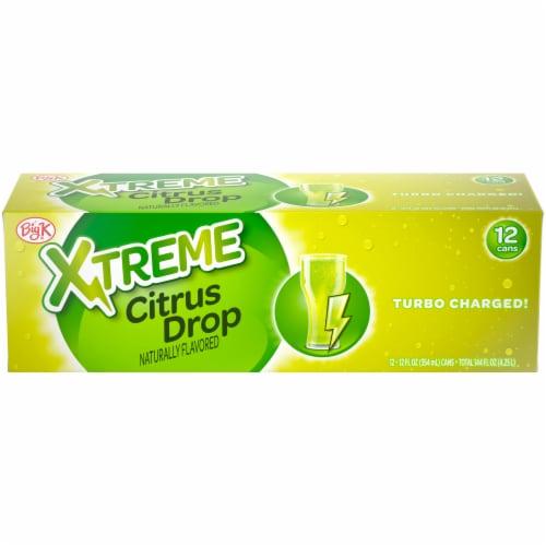 Big K® Xtreme Citrus Drop Soda Perspective: front